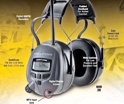 does not fit Peltor Original Ear-muff/'/' hygiene set for ear defenders/ -/ ear muffs with radio/